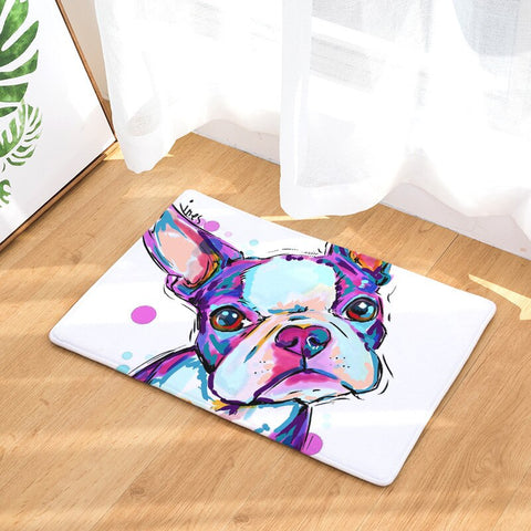 1Pc Cartoon Cute Painting Dogs Print Carpets Anti slip Floor Door Mats Outdoor Rugs Welcome Mats Decoration for Home Front Door