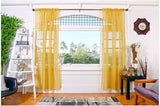 "Sheer Curtains | Two 54"" x 84"" Panels"