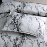 Marble Duvet Cover Bedding Set