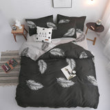 Linen Duvet Cover Bedding Set