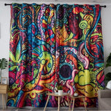"Dark Color Curtain Size - W 160"" x H 100"""