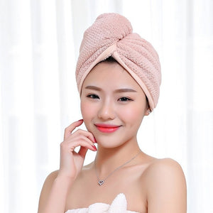 Magic Hair Quick Drying Towel Microfiber