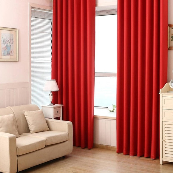 Blackout Cloth Insulation Curtain Living Room Bedroom 40  85