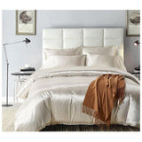 Bedding Set Soft Silk Duvet Cover Pillowcase Queen Size