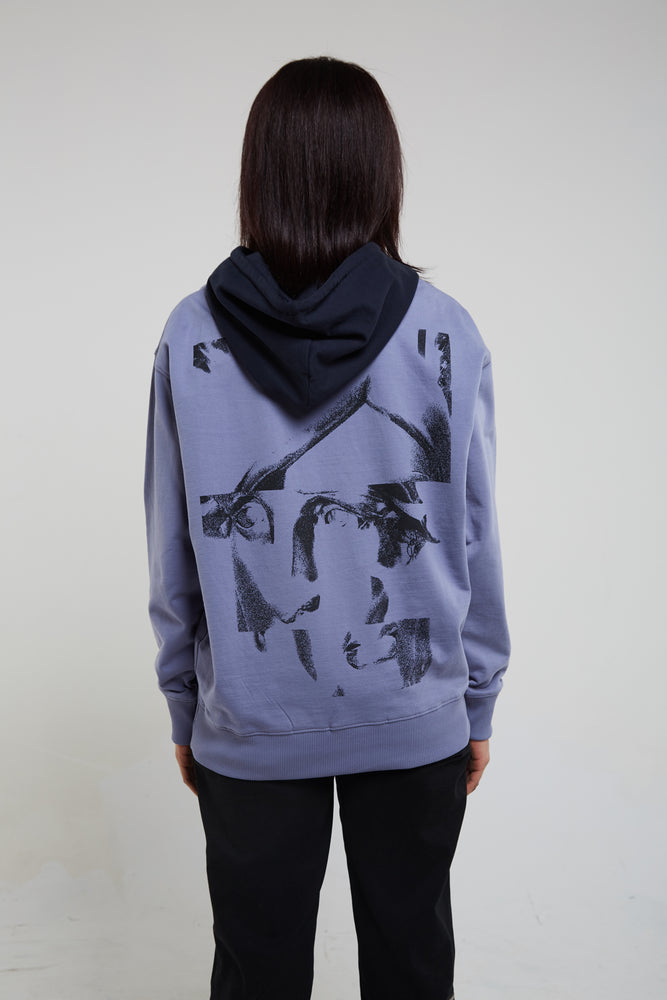 Load image into Gallery viewer, Liberty blue hoodie.