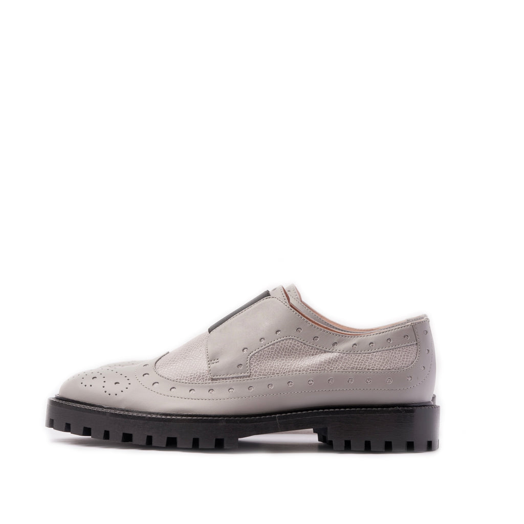 INCH2 GREY MOONLIGHT BROGUES