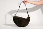 Oversized Shearling Fanny Pack