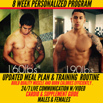 8 WEEK PERSONALIZED FITNESS PROGRAM W/ VIDEOCHAT