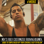 MEN'S CUSTOMIZED TRAINING REGIMEN
