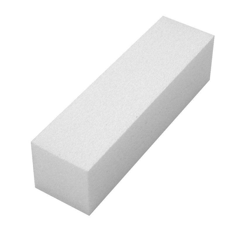 White Buffing Block 100 grit. Pack of 10.