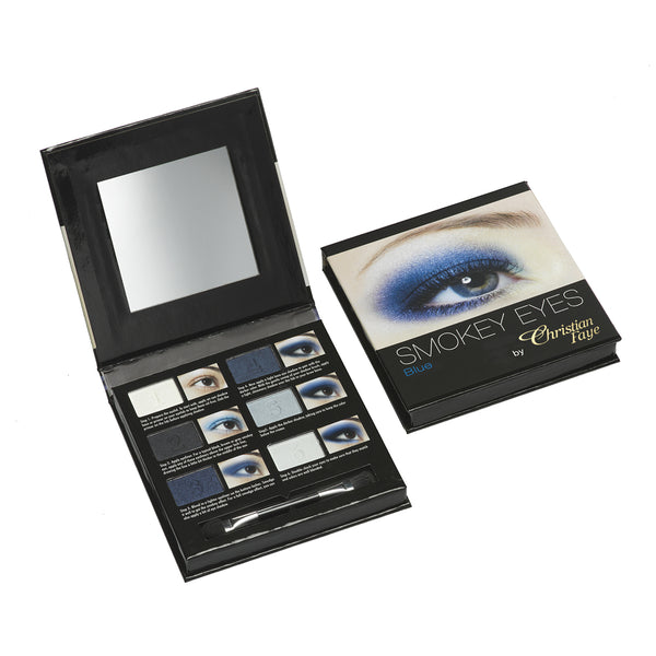 Christian Faye Smokey Eye 6 Colour Palette in Blue