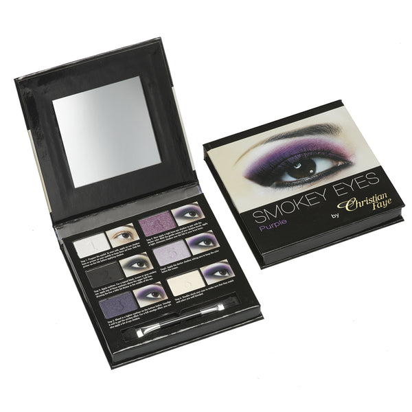 Christian Faye Smokey Eye 6 Colour Palette in Purple