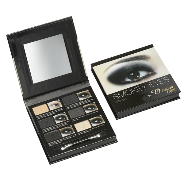 Christian Faye Smokey Eye 6 Colour Palette in Black