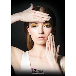 iZ Beauty Metallics Nail Art Poster