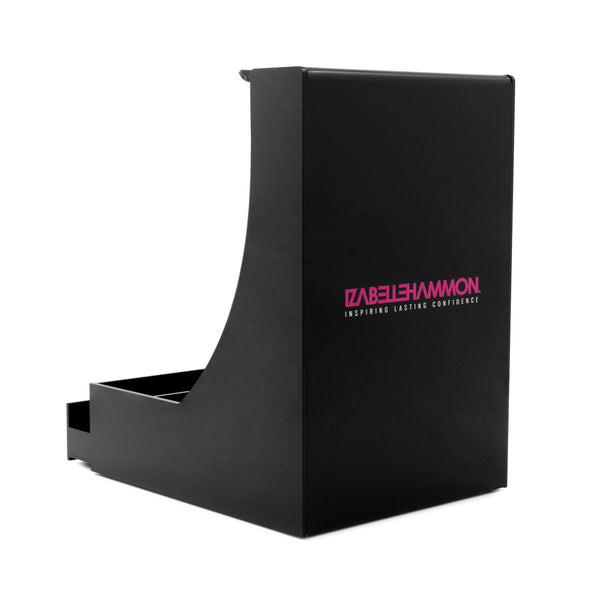 Black Branded Desk Tidy
