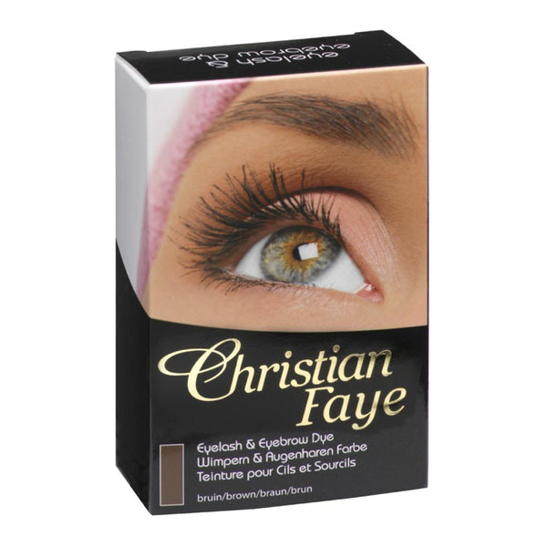 Christian Faye Eyebrow & Eyelash Dye in Brown/Black