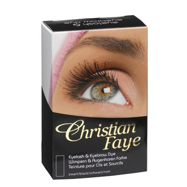 Christian Faye Eyebrow & Eyelash Dye in Black