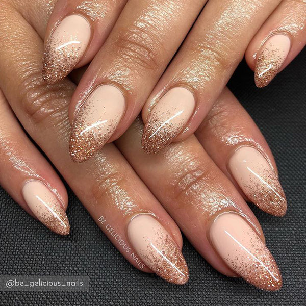 Copper Crush Nail Art Glitter