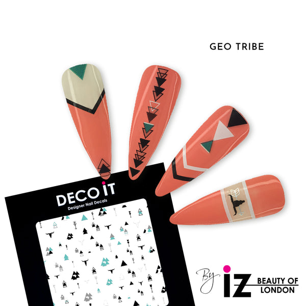 Geo Tribe Nail Decals