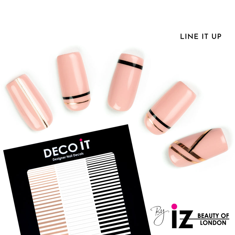 Line It Up Nail Decals