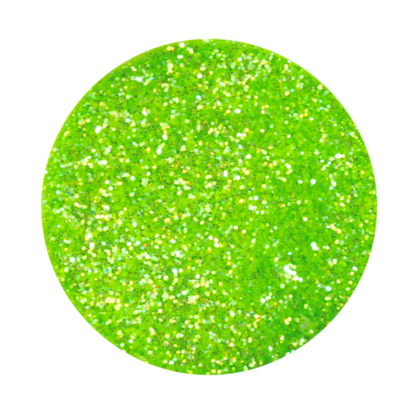 Luscious Lime Nail Art Glitter