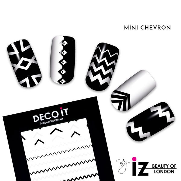 MINI Chevron Nail Decals