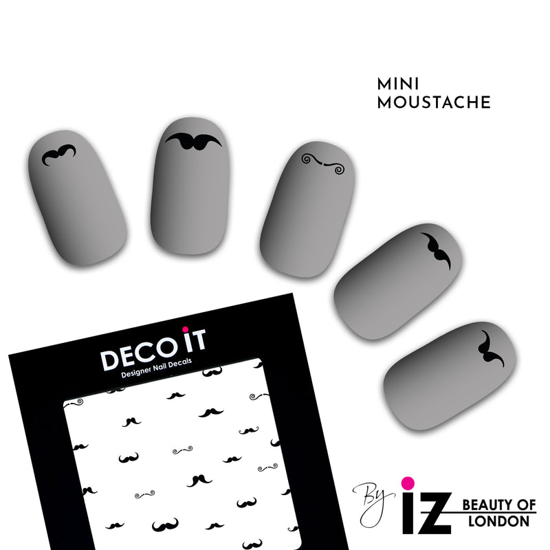 MINI Tache On Nail Decals