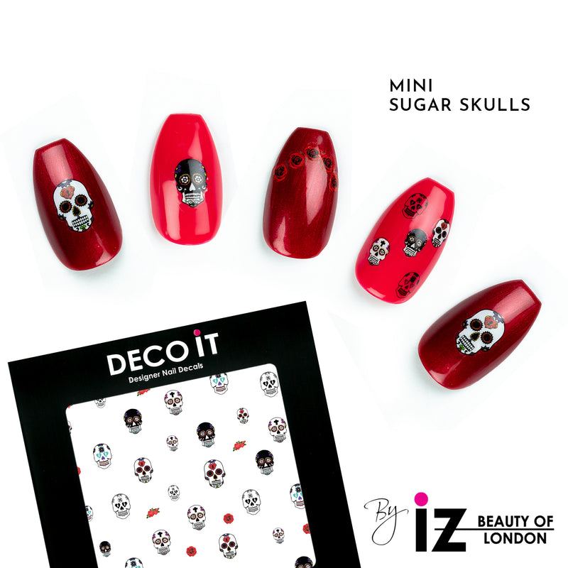 MINI Sugar Skulls Nail Decals