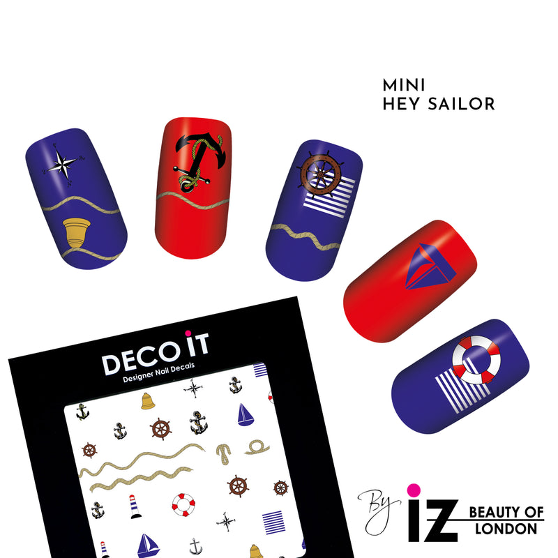MINI Hey Sailor Nail Decals