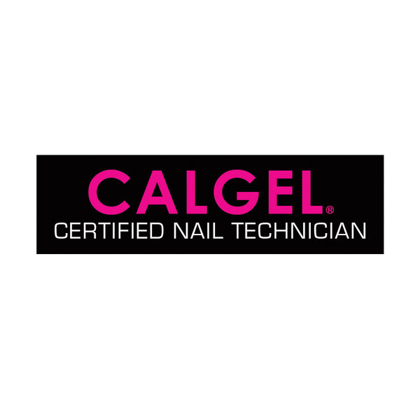 Calgel Nail Technician Badge