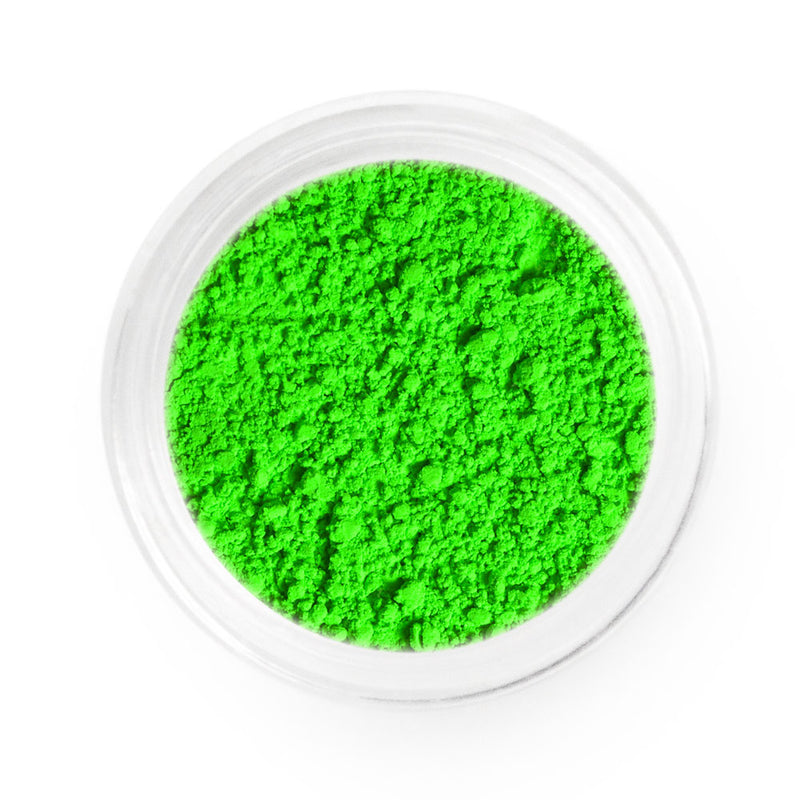 Signal Green Neon Powder Pigment