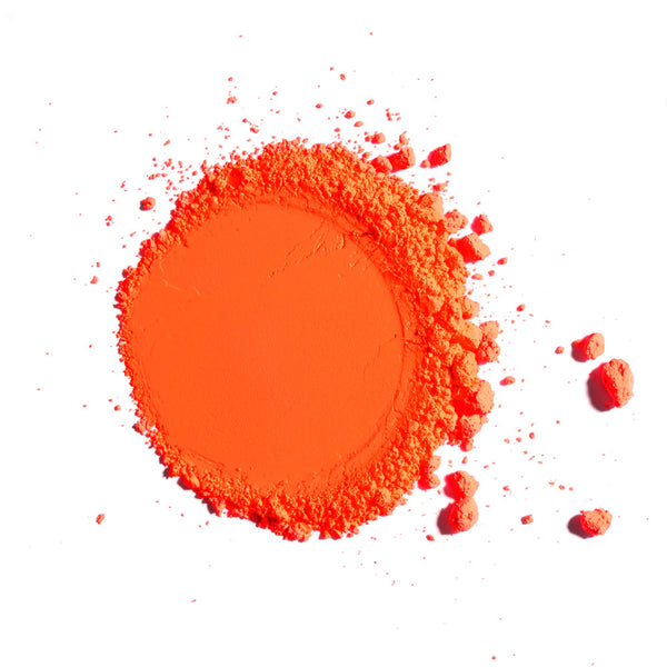 Fire Orange Neon Powder Pigment
