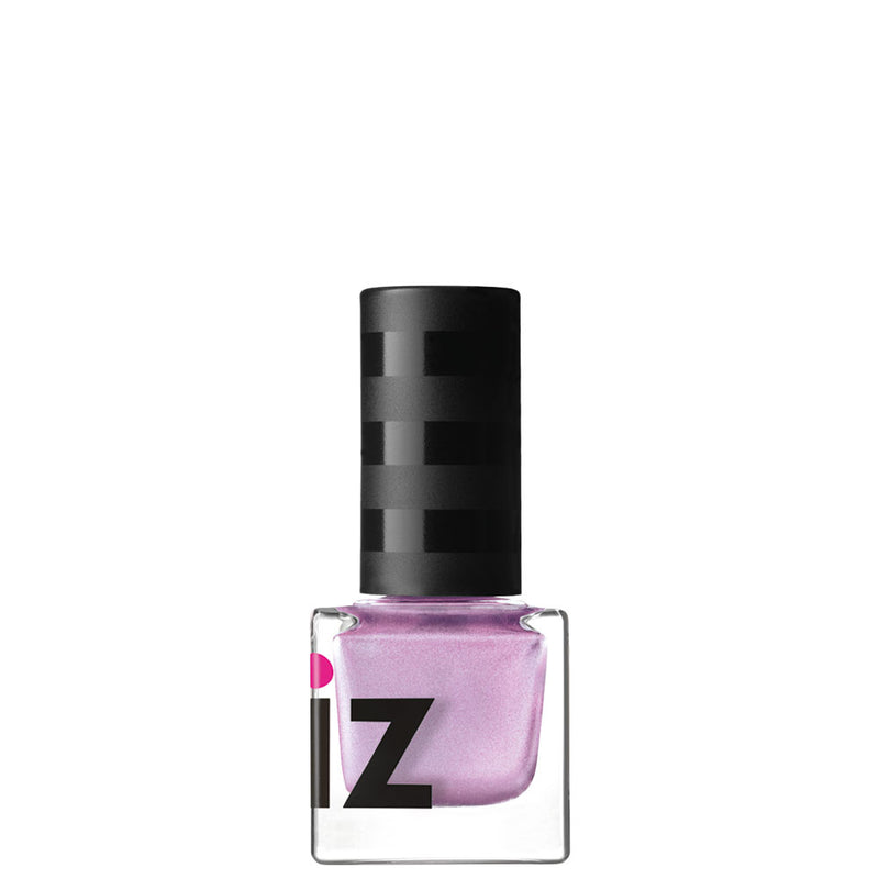 Pink Fizz Satin Chrome Nail Polish