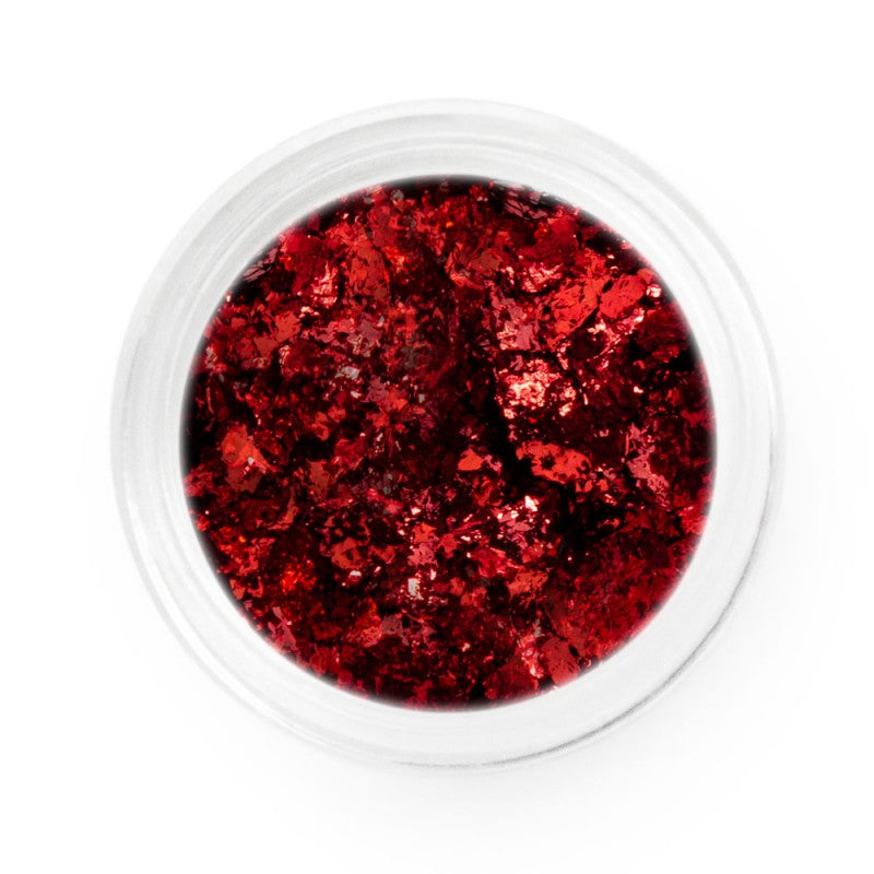 Red Chrome Flakes