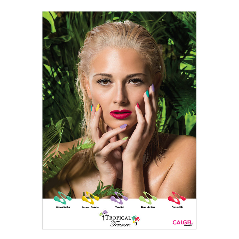 Tropical Treasures Poster