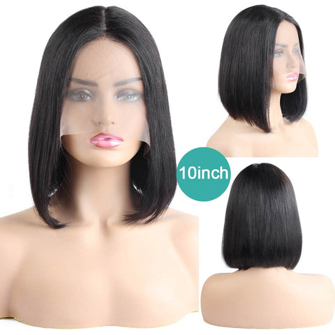 Brazilian Straight short Bob Wig For Black Women - beauty-identity99