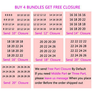 Kinky Curly Hair Buy 4 Bundles Get One Free Closure - beauty-identity99