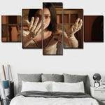 Wall Art 5 Pieces Alita Battle Angel Anime Movie
