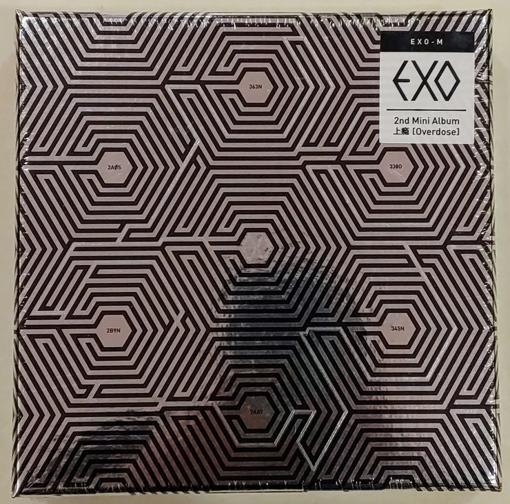 EXO-M - 2nd Mini Album - [OVERDOSE] - K Pop Pink Store