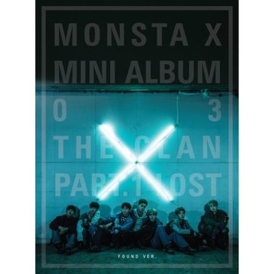 MONSTA X 3rd Mini Album - The CLAN 2.5 Part.1 LOST [Found version] - K Pop Goods Pink House