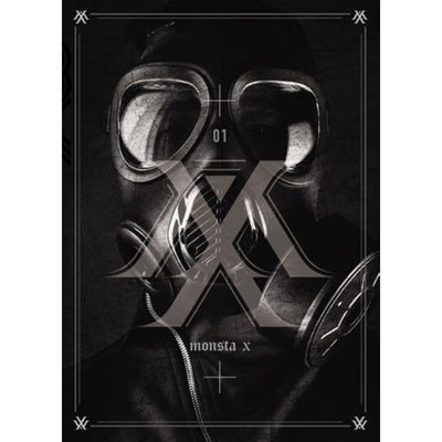 MONSTA X - Trespass (1st Mini Album) - K Pop Pink Store