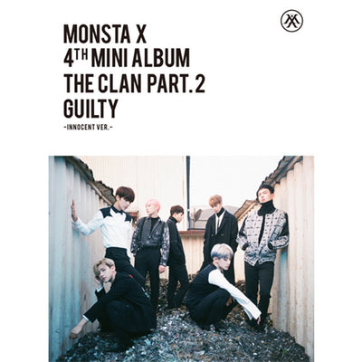 MONSTA X - [THE CLAN 2.5 PART.2 GUILTY] INNOCENT Ver. 4th Mini Album - K Pop Pink Store