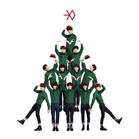 EXO - 3rd Mini Album Winter Special 2013- [MIRACLES IN DECEMBER] - K Pop Goods Pink House