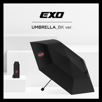 EXO Official Goods - Five Fold Umbrella - K Pop Goods Pink House