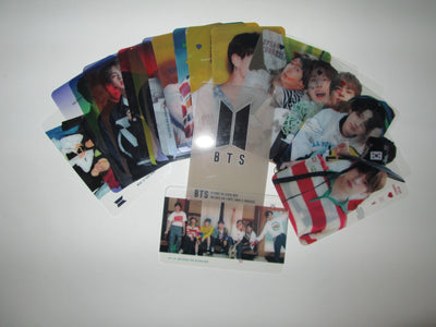 Artists Transparent Photo Cards 25pcs - K Pop Goods Pink House