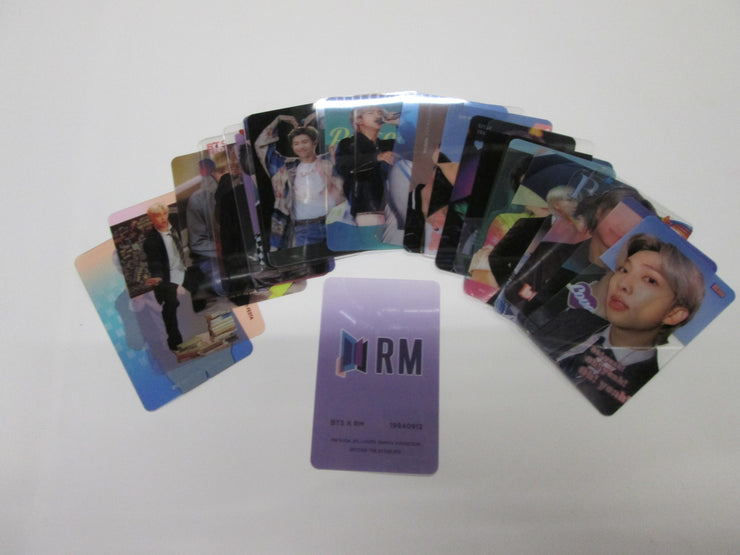 ARTISTS TRANSPARENT PHOTO CARDS - K Pop Goods Pink House