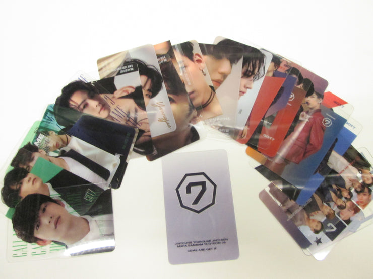 ARTISTS TRANSPARENT PHOTO CARDS - K Pop Pink Store
