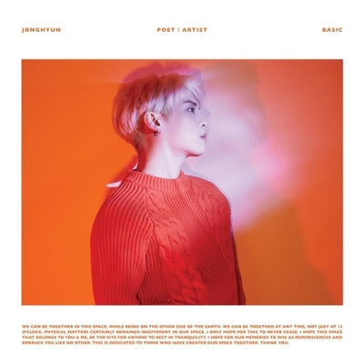 JONGHYUN (SHINee) - 2nd Album - [Poet|Artist] - K Pop Pink Store