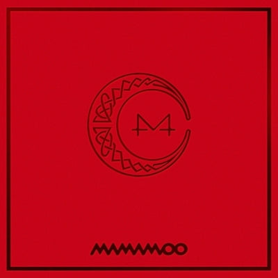 MAMAMOO - 7th Mini Album - [RED MOON] - K Pop Goods Pink House