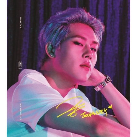MONSTA X [ALL ABOUT LUV] ALBUM - K Pop Goods Pink House